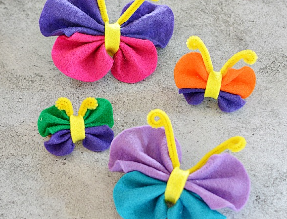 Springtime Butterfly Craft