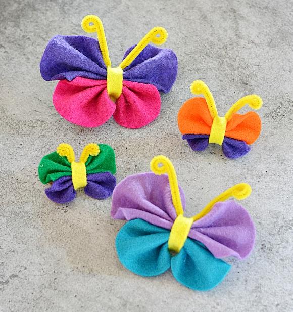 Springtime Butterfly Craft